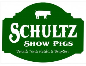 Schultz Show Pigs